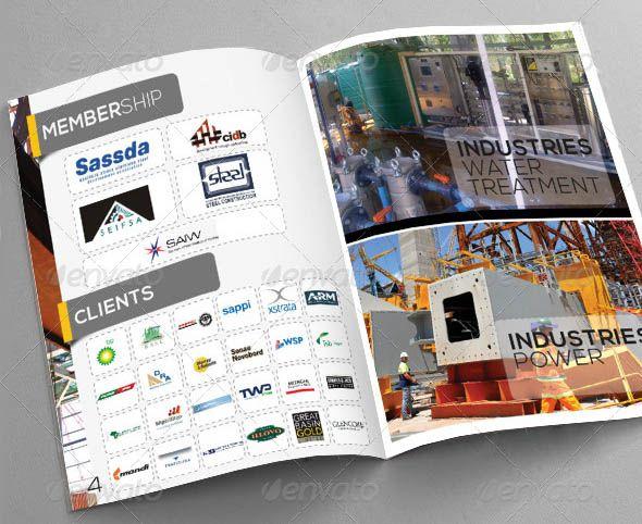 Construction Brochure Brochure Ideas Pinterest Brochure - Construction brochure templates