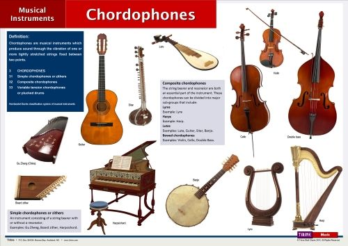 Chordophones. In the Hornbostel-Sachs classification ...