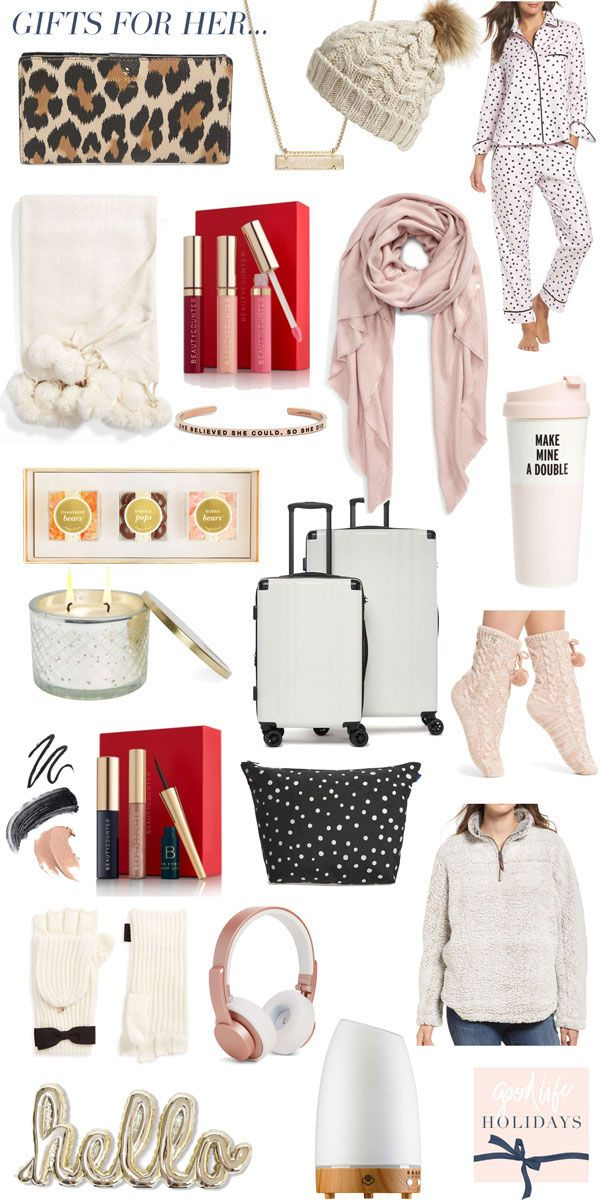 holiday gift guide 2017: gifts for her! | Gifts for her ...
