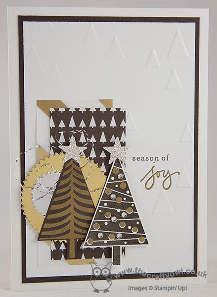 The Crafty Owl's Blog | All About Trees Christmas Card