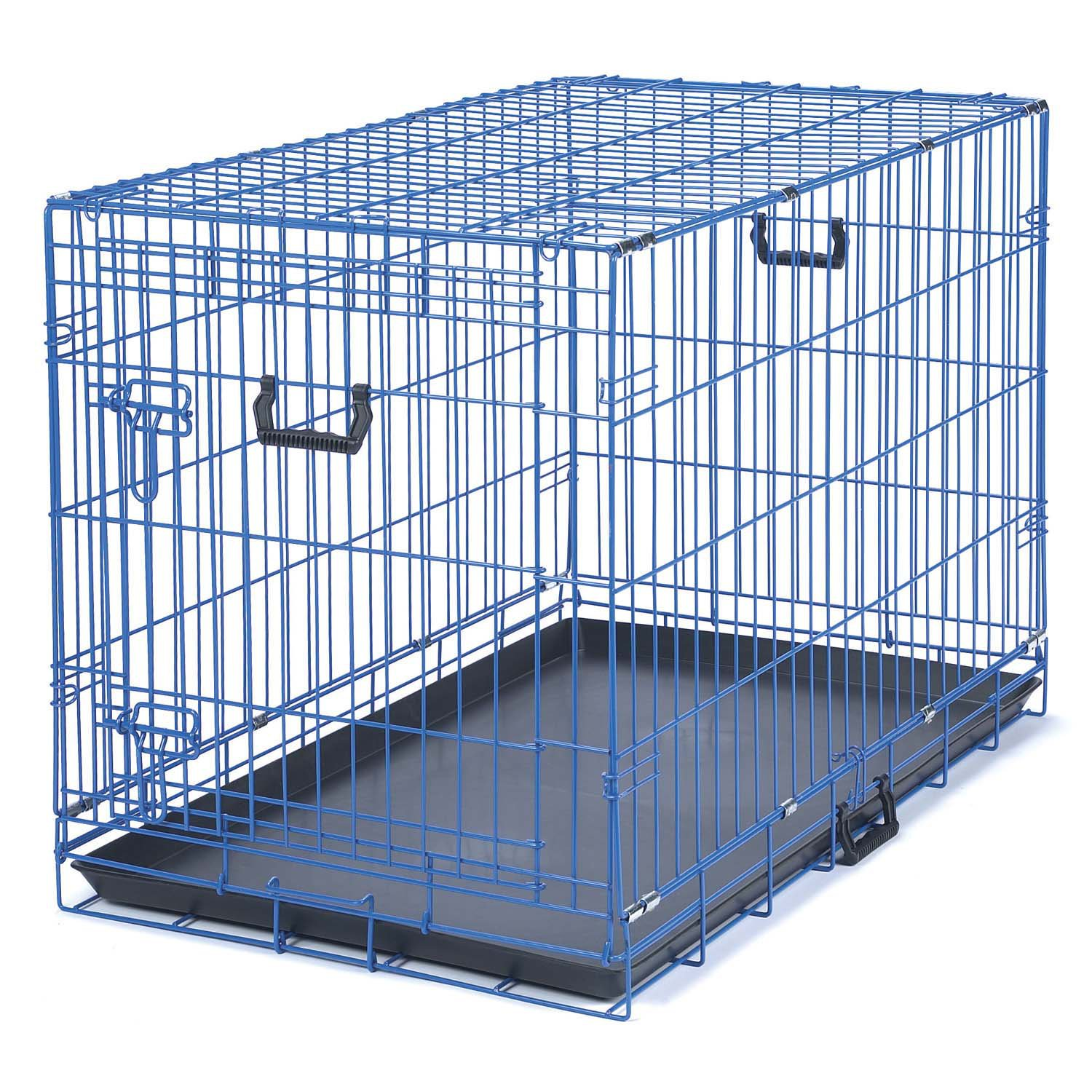 Be Good Appeal Color Blue Dog Crate 30 L X 19 W X 23 H Dog
