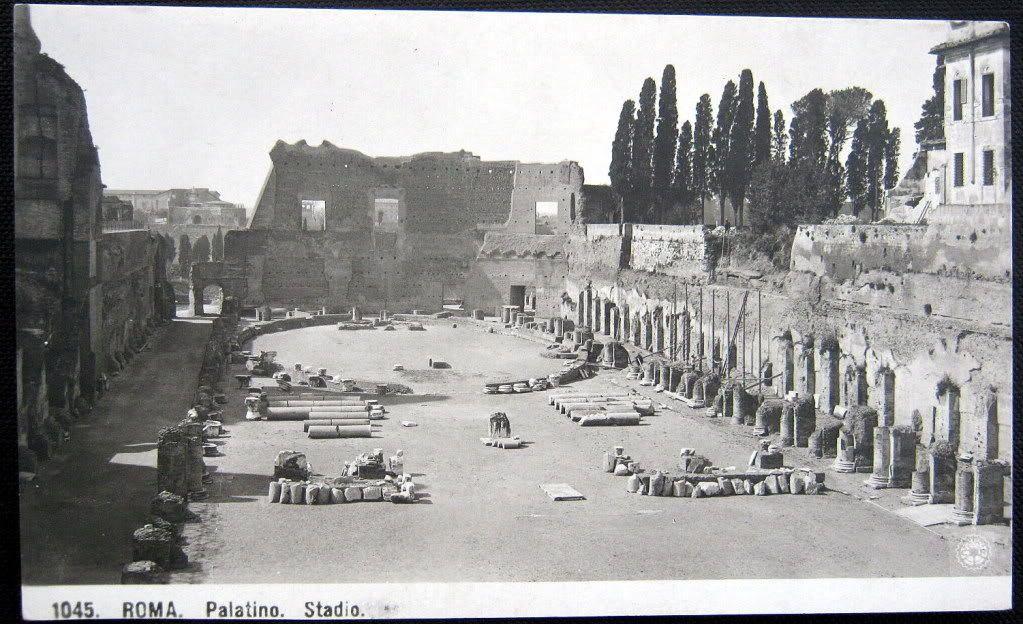 Details about ITALY~ITALIA~1900's ROMA Rome ~ PALATINO ...