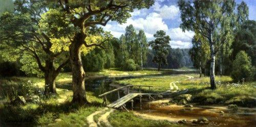 Работы художника Михаила Сатарова. Пейзажи. Часть 1. (25 ...