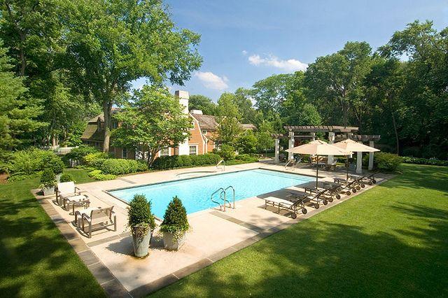 Rectangular Swimming Pool Rectangular Swimming Pools Rectangular Pool Pool Landscape Design