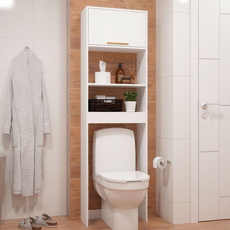 Armario Para Banheiro Bbn 10 Brv Branco Armario Banheiro