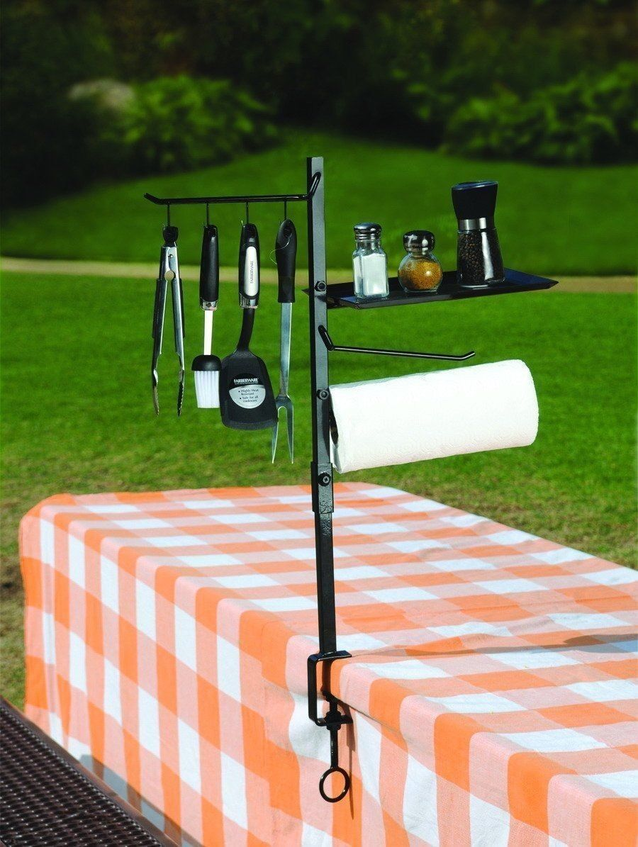 Bbq grill accessory outdoor cooking camping hiking tool - Grill utensil storage ideas ...