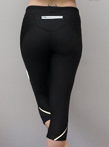 Yoga leggings sports running exercise capri 3/4 tights
