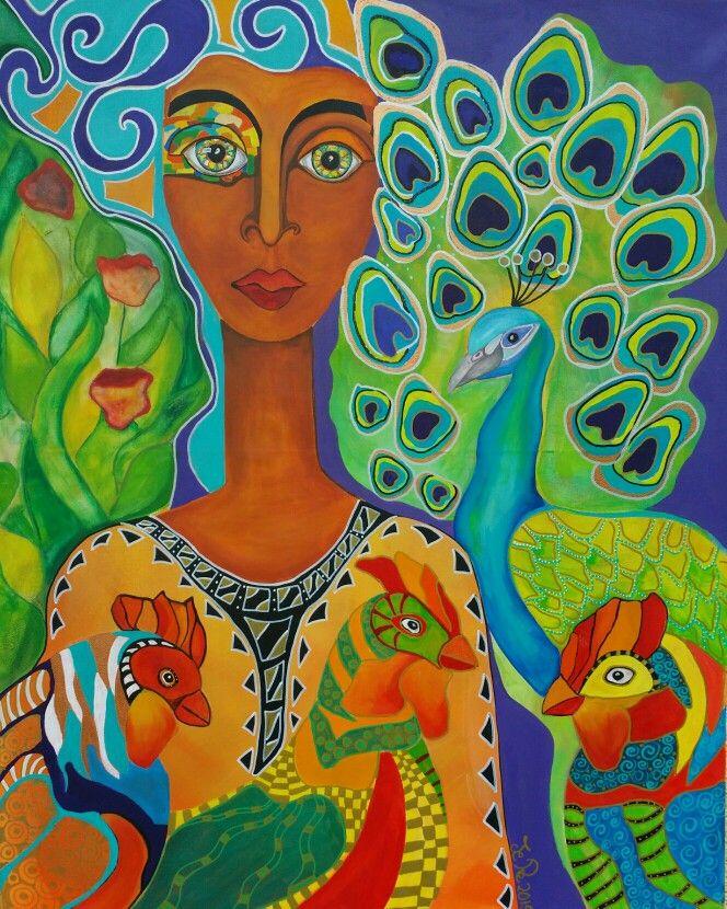 Paradiesvogel von Jeanett Rotter