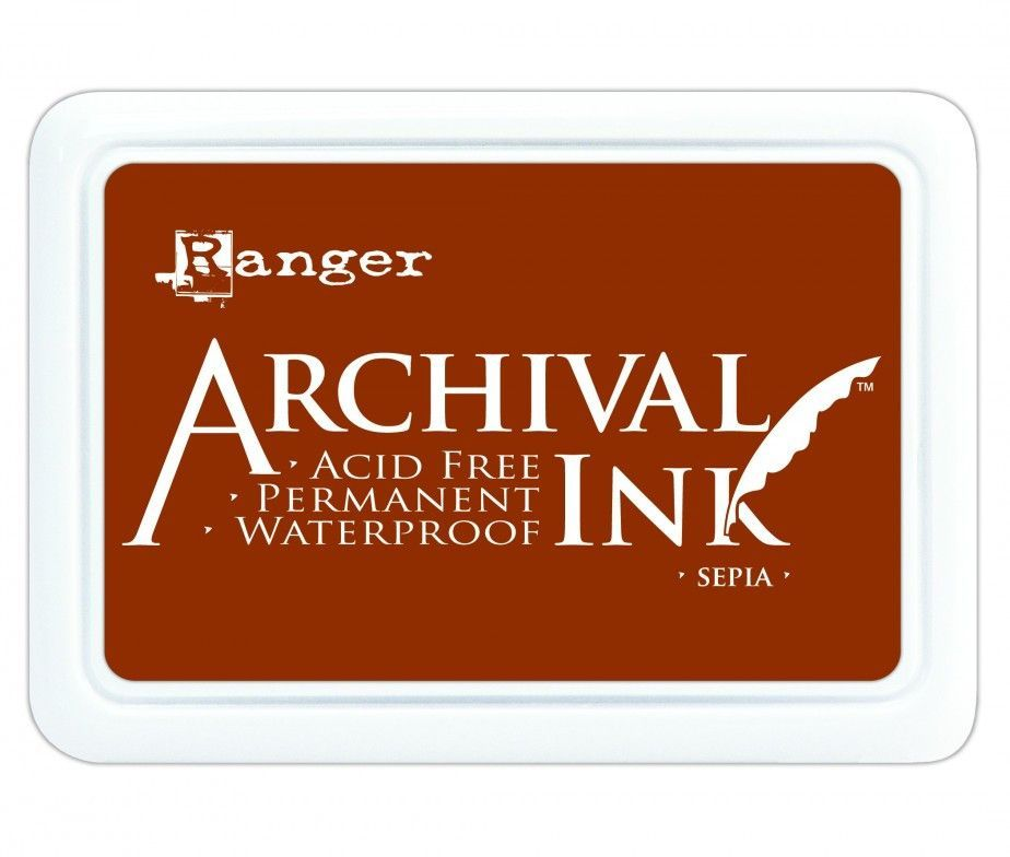 Archival Ink Pad Sepia