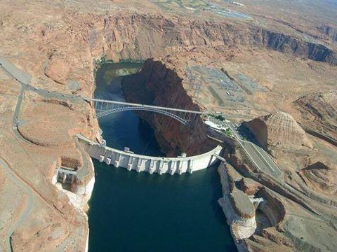 Foto de Euroden SL. Presa Glen, Cañon del Colorado via Twitter @fierasdelainge @Y_arquitectura