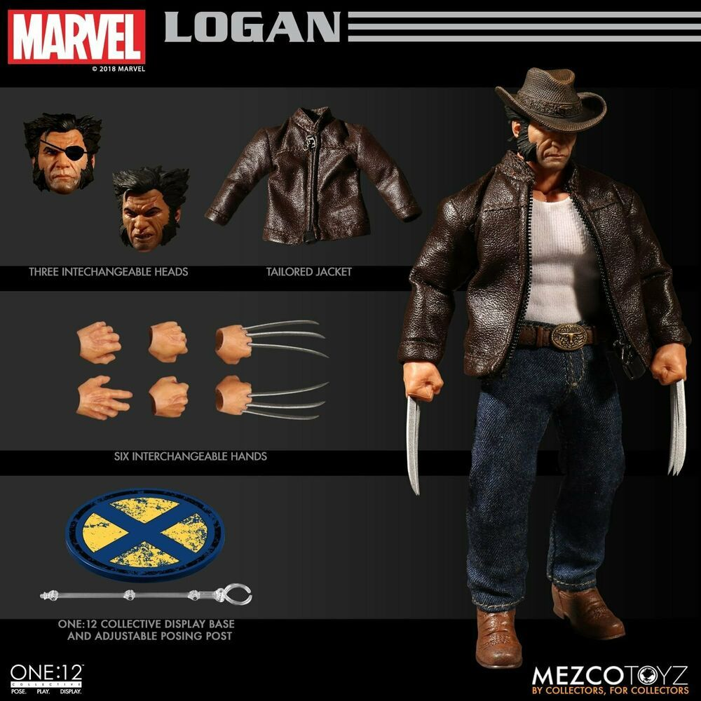 Série Black Neca Marvel Legends Mezco 1 x Custom Action Figure base