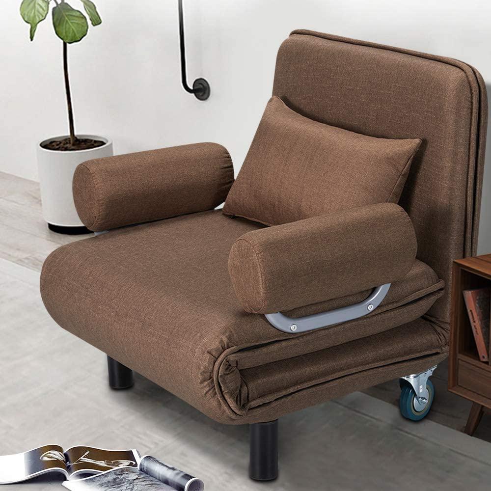 HOMHUM Convertible Sofa Bed Sleeper Chair