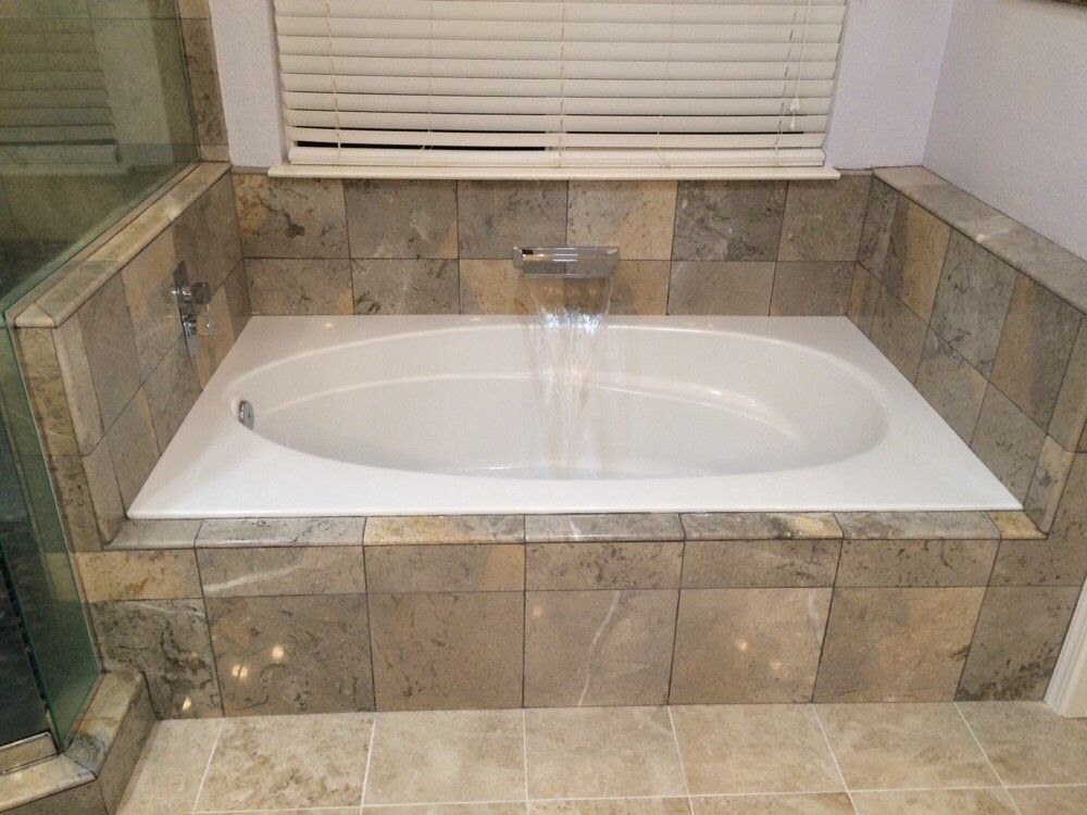 Terico San Jose Ca United States Ocean Blue Limestone From Used For The Bathtub