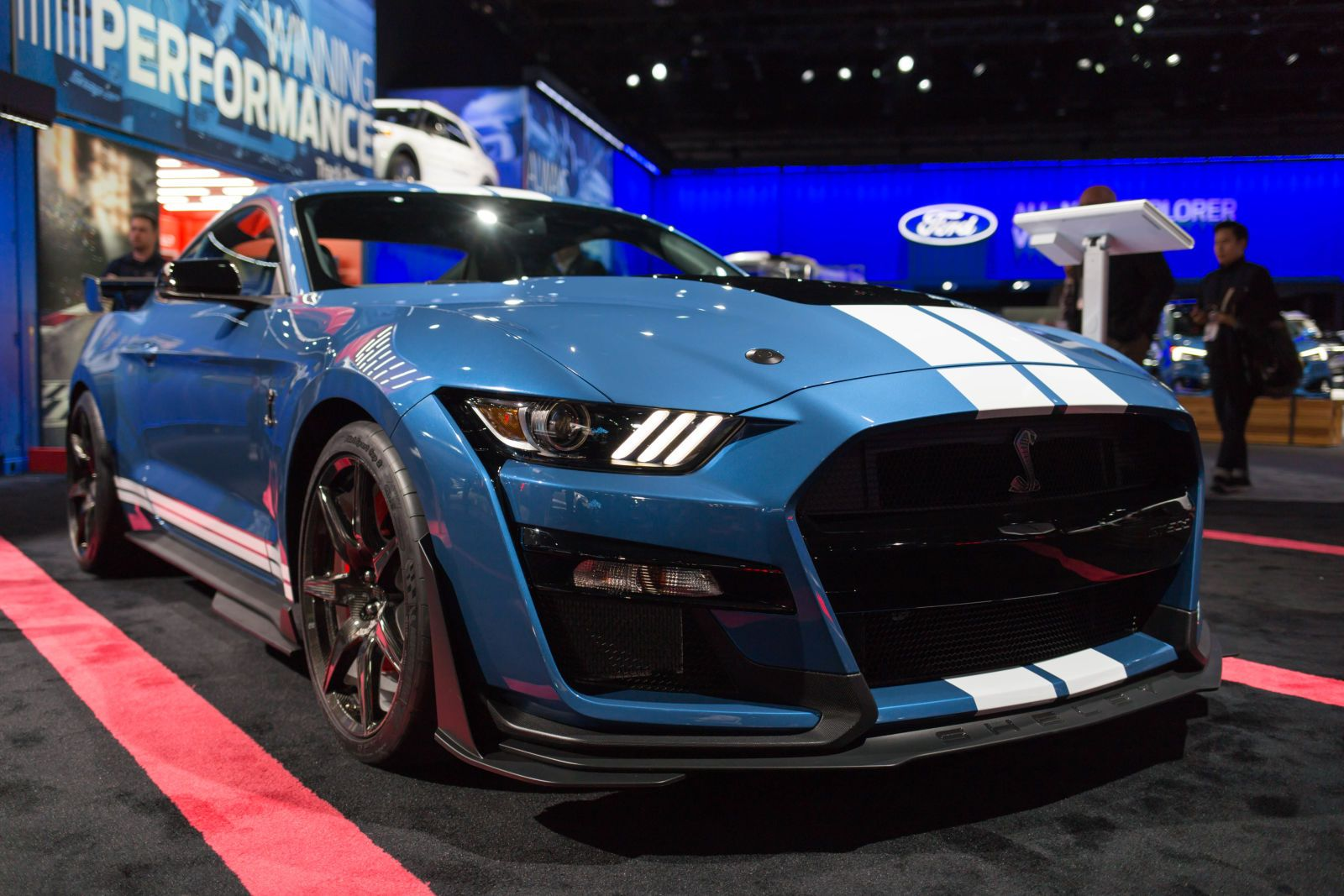 Twelve Badass Details On The 2020 Ford Mustang Shelby Gt500 Ford