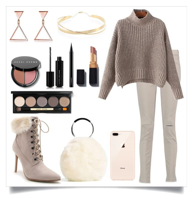 """Autumn Boots"" by kitty-cat130 ❤ liked on Polyvore featuring Venus, J Brand, Lana Jewelry, Bobbi Brown Cosmetics, Marc Jacobs and MAC Cosmetics"