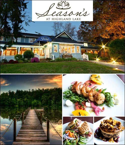 Season S Restaurant At Highland Lake Inn Flat Rock Nc