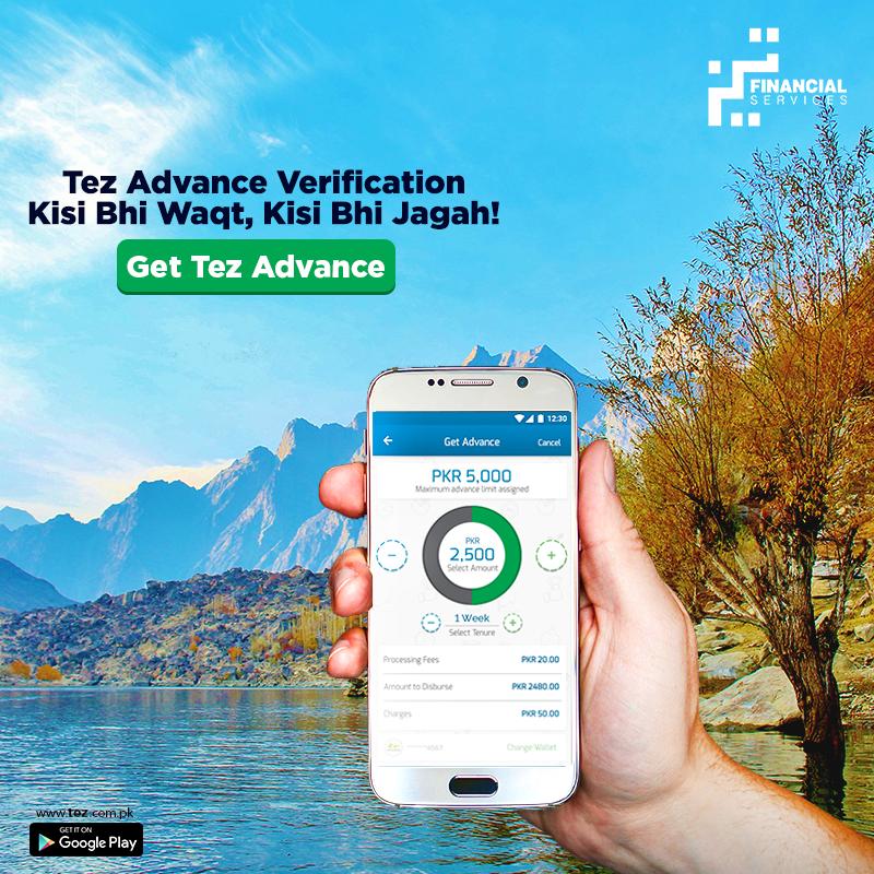 Tez makes your cash advance verification process quick