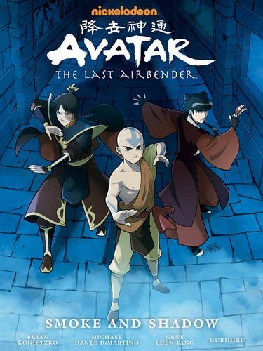 Download Avatar The Last Airbender Smoke And Shadow Library Edition Avatar The Last Airbender The Last Airbender Avatar