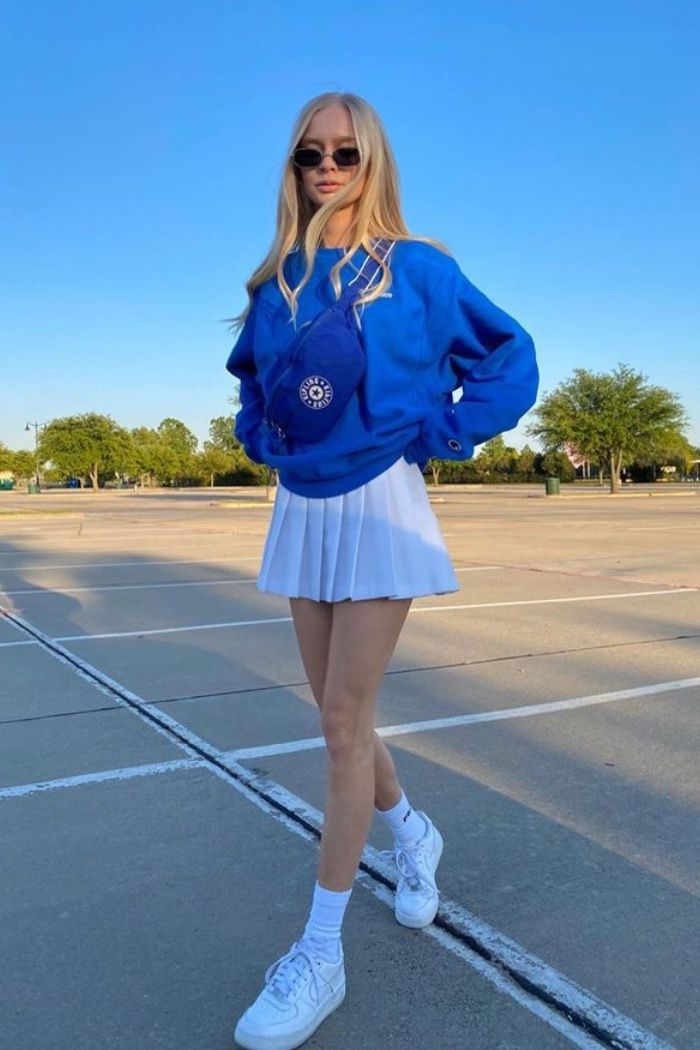 Pin By Eden Gallagher On Style In 2020 Tennis Skirt Outfit Skirt Trends Cute Casual Outfits
