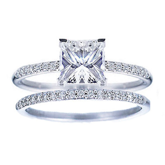 princess cut engagement rings Princess Cut Diamond Engagement Ring