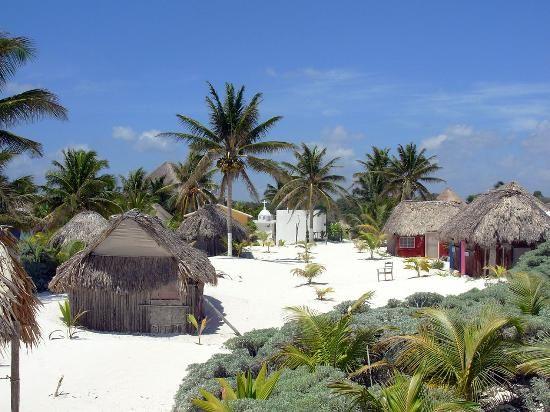 Cabanas Zazilkin Tulum Yucatan This Is Where I Stayed Great Beach