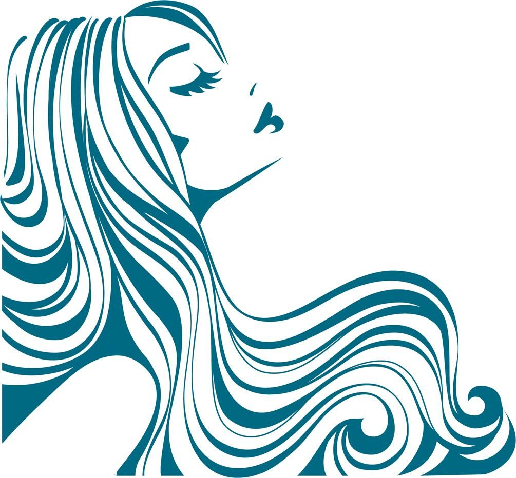 Flowing Hair Silhouette Clipart Panda Free Clipart Images Hair Art Woman Silhouette Hair And Beauty Salon