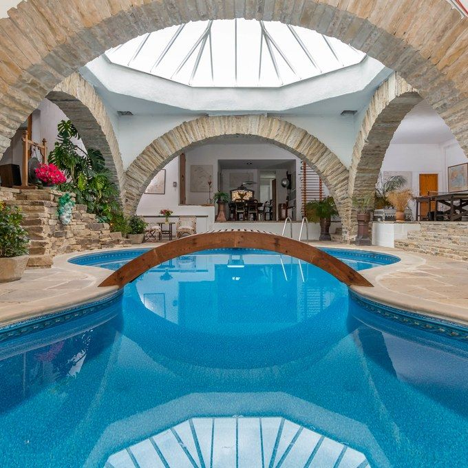 Luxury House With Indoor Pool: This Earth-Sheltered Home Is Unexpectedly Luxurious