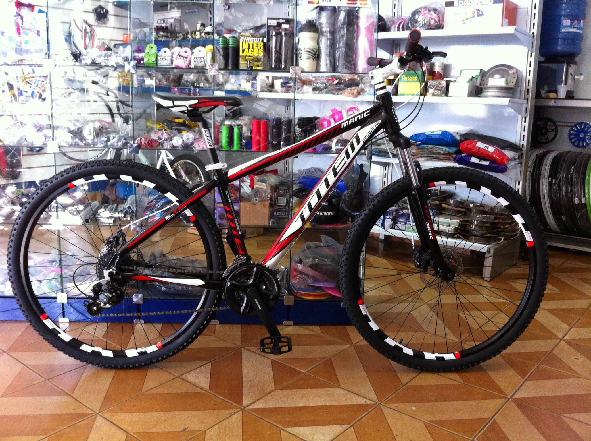 MTB TOTEM MANIC 29 ER 24 VEL.   Bicicletas montadas na ...