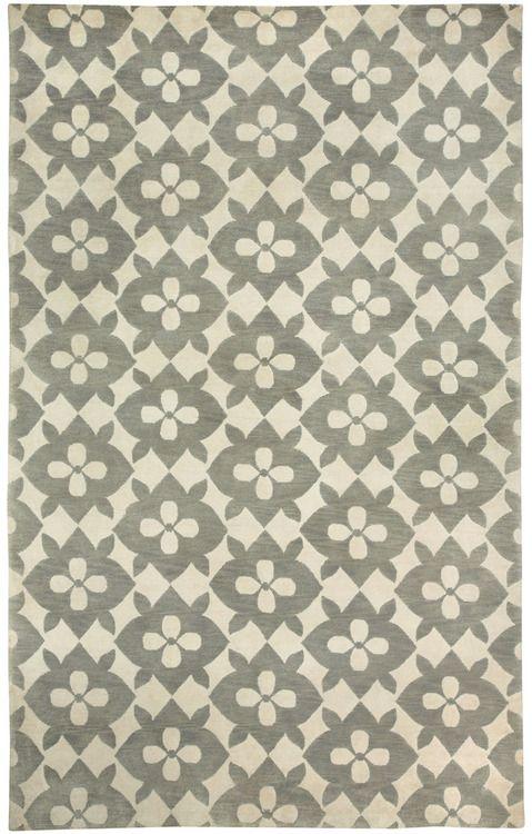 branda: (vía Coco's Flower Gray Rugs | Capel Rugs, America's Rug Company)