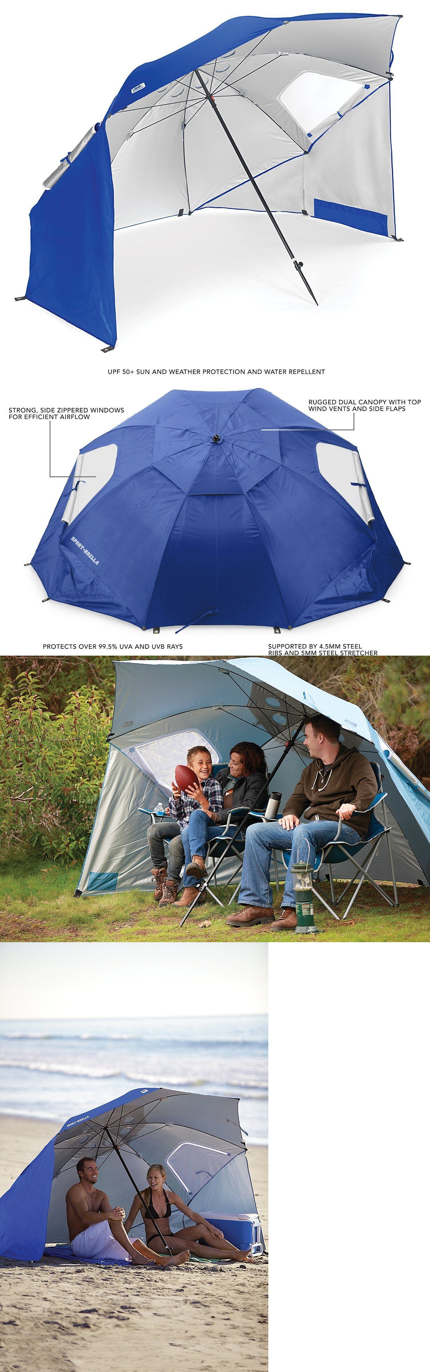 Canopies And Shelters  Sport Brella Portable All Weather And Sun Umbrella