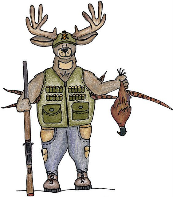 Deer Hunting Animal Clipart Forest Animals All Gods Creatures