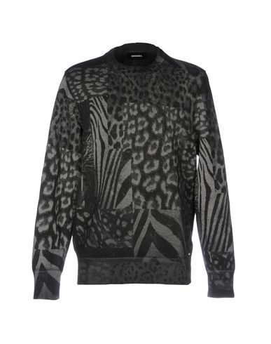 DIESEL Men's Sweatshirt Steel grey XXL INT