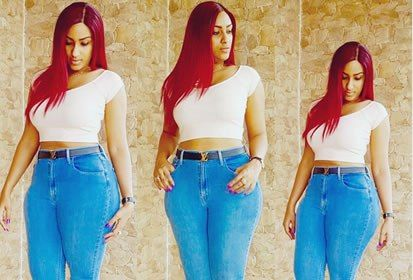 Photos: Juliet Ibrahim flaunts curves in skin tight jeans, view details at https://goo.gl/wQkOO1