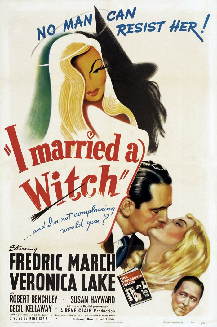 Review I Married A Witch 1942 Old Movie Posters Classic