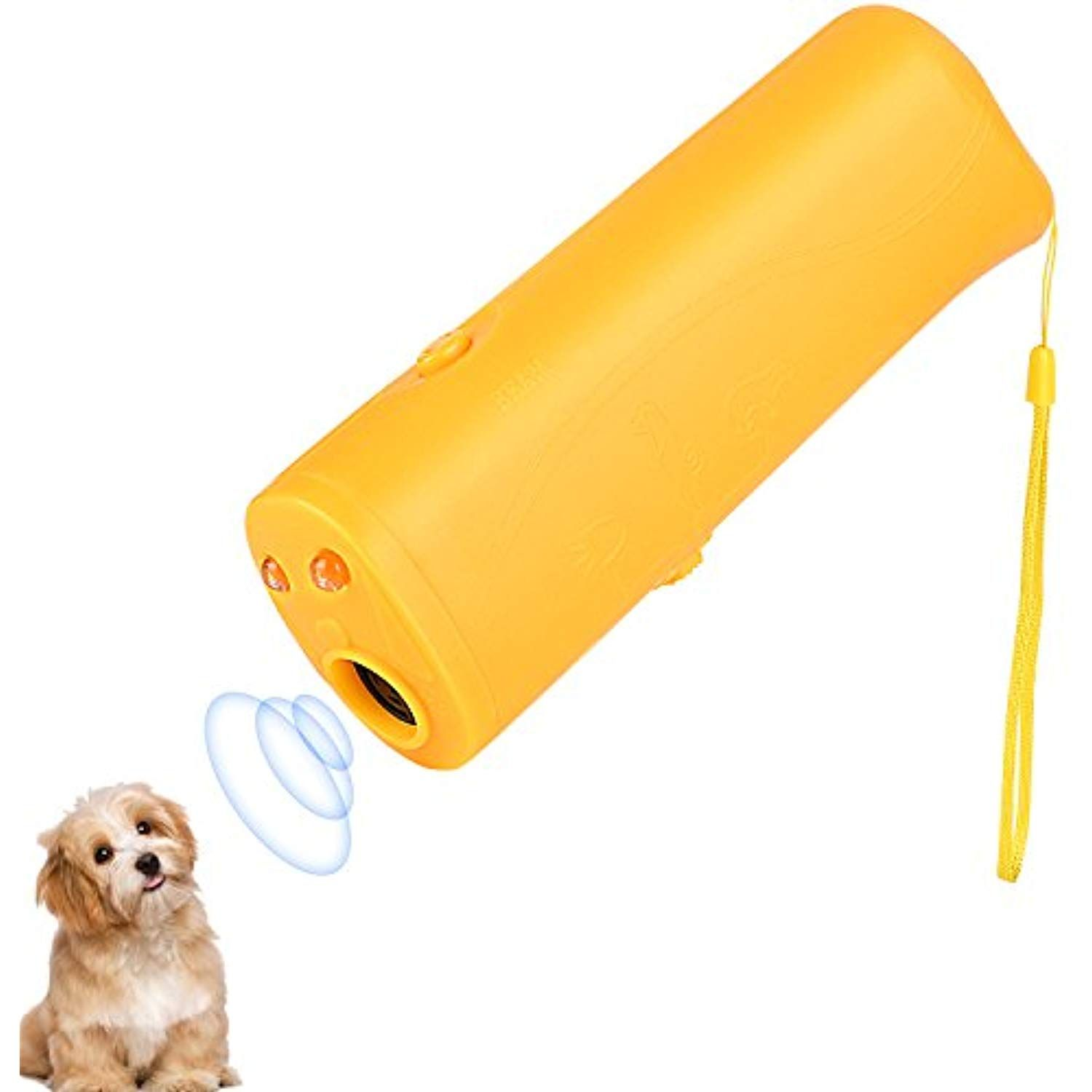 Onson Ultrasonic Dog Repeller And Trainer Device 3 In 1 Led Pet