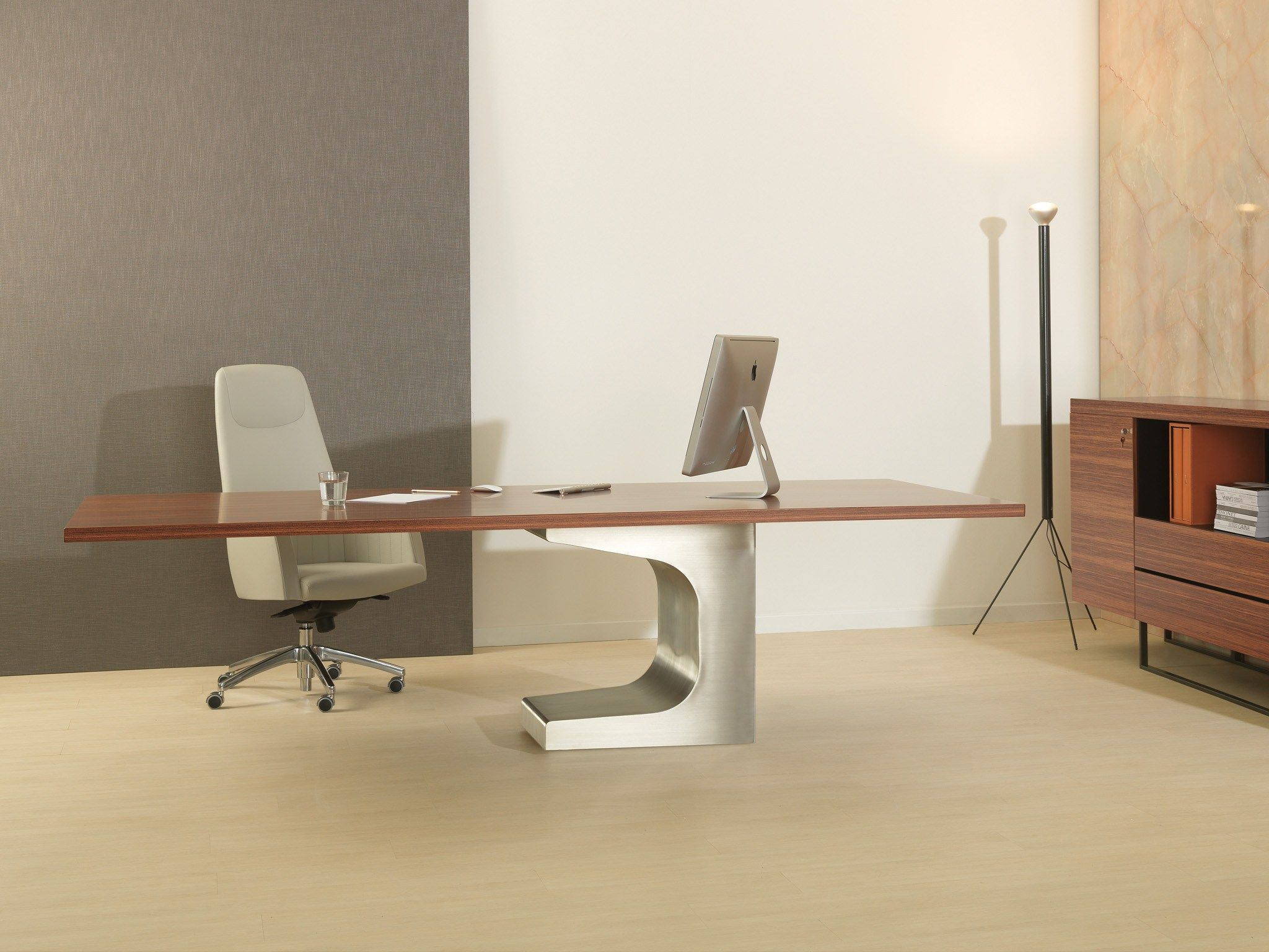 Estel Mobili ~ Niemeyer rectangular table by estel group design oscar niemeyer