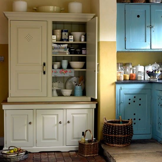 Why Choose A Pantry Or Larder How To Create Country Style Housetohome Co Uk