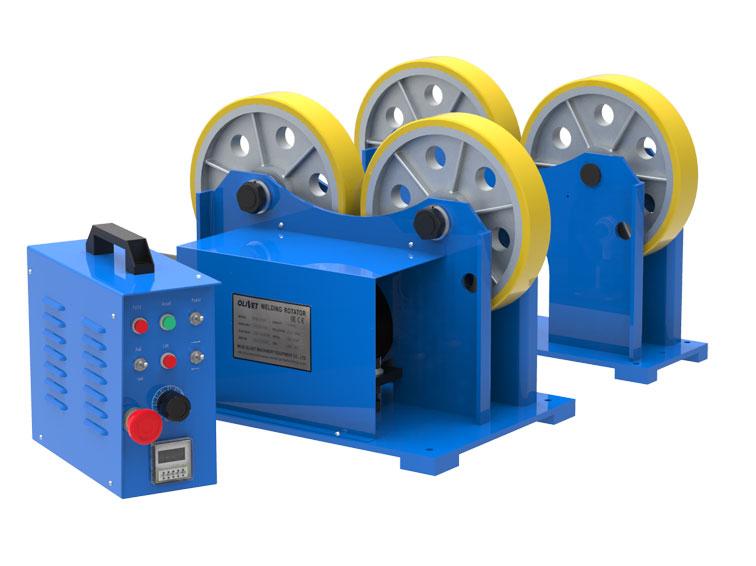Welding Rotator Hgk Series Pipepinchingrotator Weldingrotator Weldingmachine In 2020 Welding Modular System Rotating