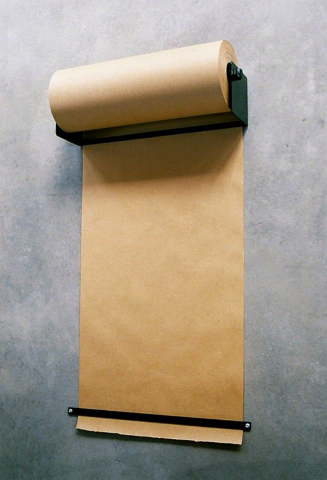 Ikea Hack Kraft Paper Dispenser For Under 15 Paper