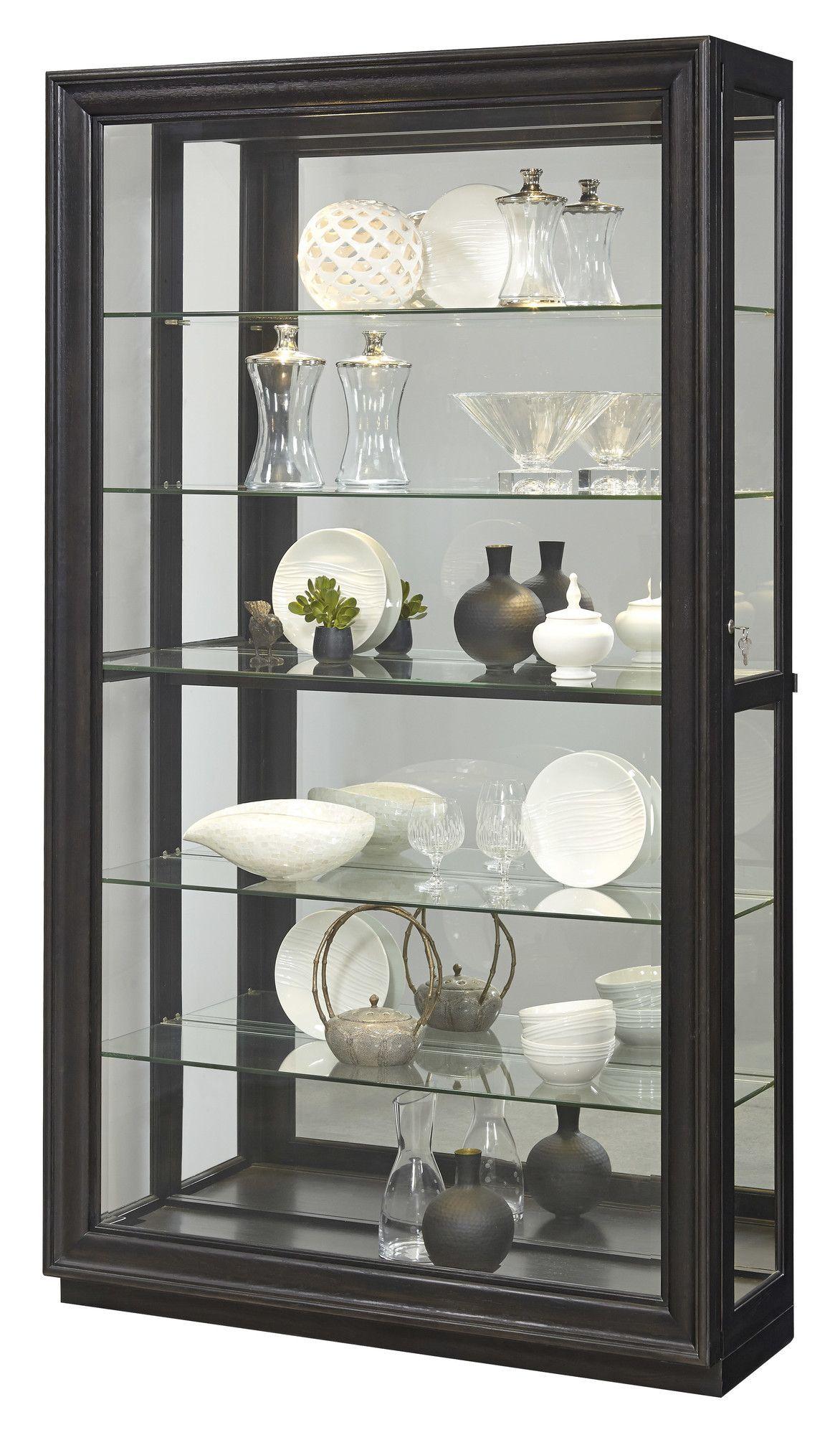 Solid Ash Corner Curio Cabinet Furniture Curio Cabinet Cabinet