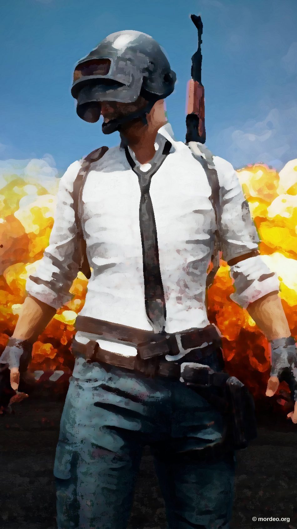 PUBG Prisma Artwork PlayerUnknown's Battlegrounds Free 4K