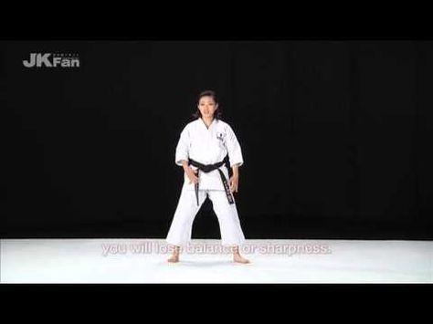 Rika Usami S Best Karate 7 12 Beautiful Kata Karate Kata