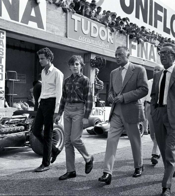 Gianni Agnelli; all flannel look with black dress boots ...