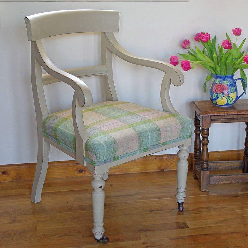 Bon Vintage Upholstered Hall Chair By Sharp U0026 Noble   Footstools U0026 Cubes |  Notonthehighstreet.com