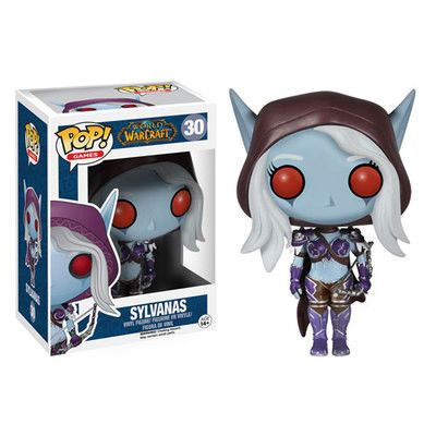 Funko Pop Official Games Wow Lady Sylvanas Vinyl Action