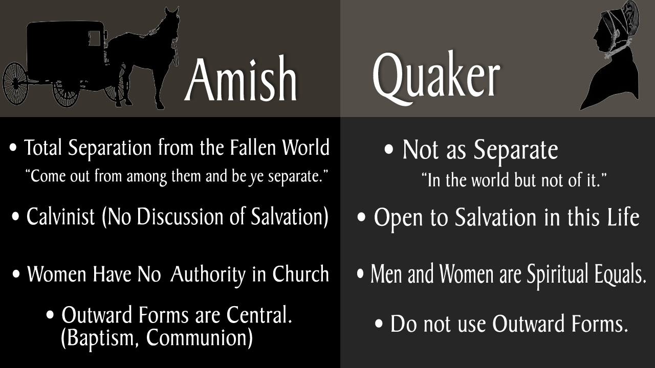 relationship between shakers and quakers