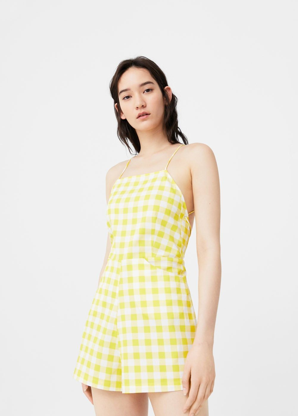 7d7590cfa2 Gingham check jumpsuit - Woman in 2019