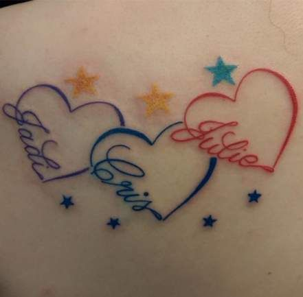 Tattoo Ideas For Kids Names On Wrist Heart 58 Ideas Tattoos With Kids Names Tattoos For Kids Heart Tattoos With Names