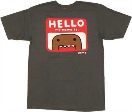 Pin by Nicole Dilts on domo | Hello my name is, Hello ...  Pin by Nicole D...