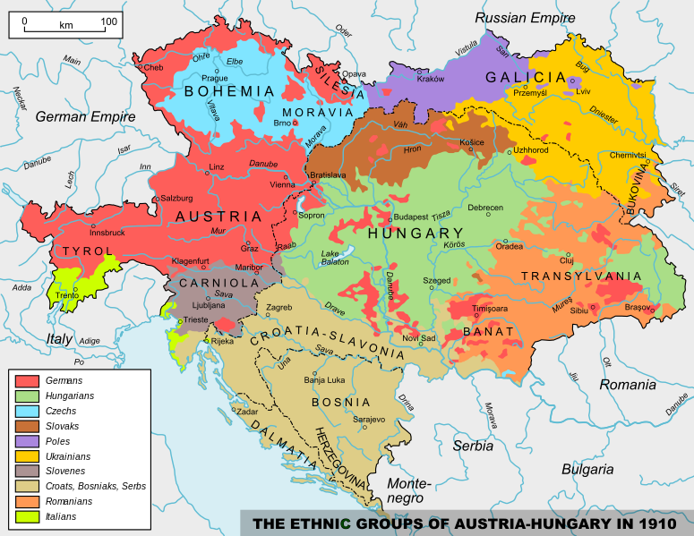The United States Of Greater Austria A Plan To Federalize The Austrian Hungarian Empire Proposed By Aurel Popovici In 1906 To Franz Ferdinand